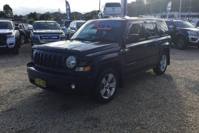 2014 MY15 Jeep Patriot MK MY15 Limited Wagon