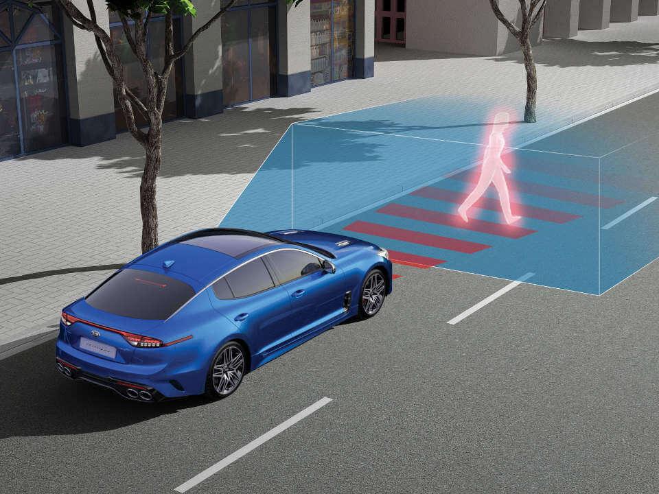 Autonomous Emergency Braking (Car/Pedestrian/Cyclist)