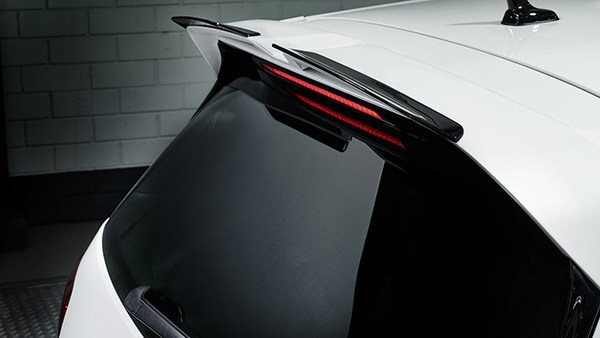 Oettinger Roof Edge Spoiler with Racing Flaps