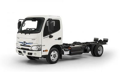 New Hino 300 Series Hybrid