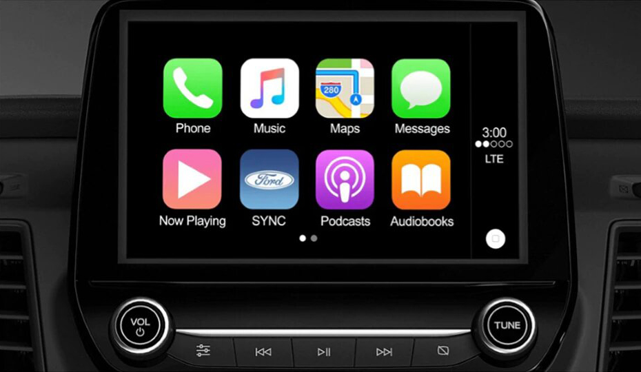 Transit Cab Chassis Apple CarPlay & Android Auto