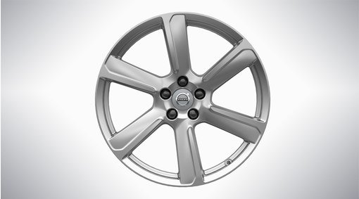"19"" 6-Spoke Turbine Silver Alloy Wheel - 177"
