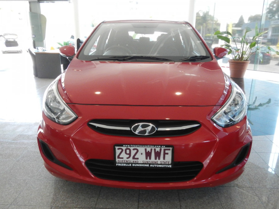 2016 Hyundai Accent RB4 MY16 Active Hatchback Image 8
