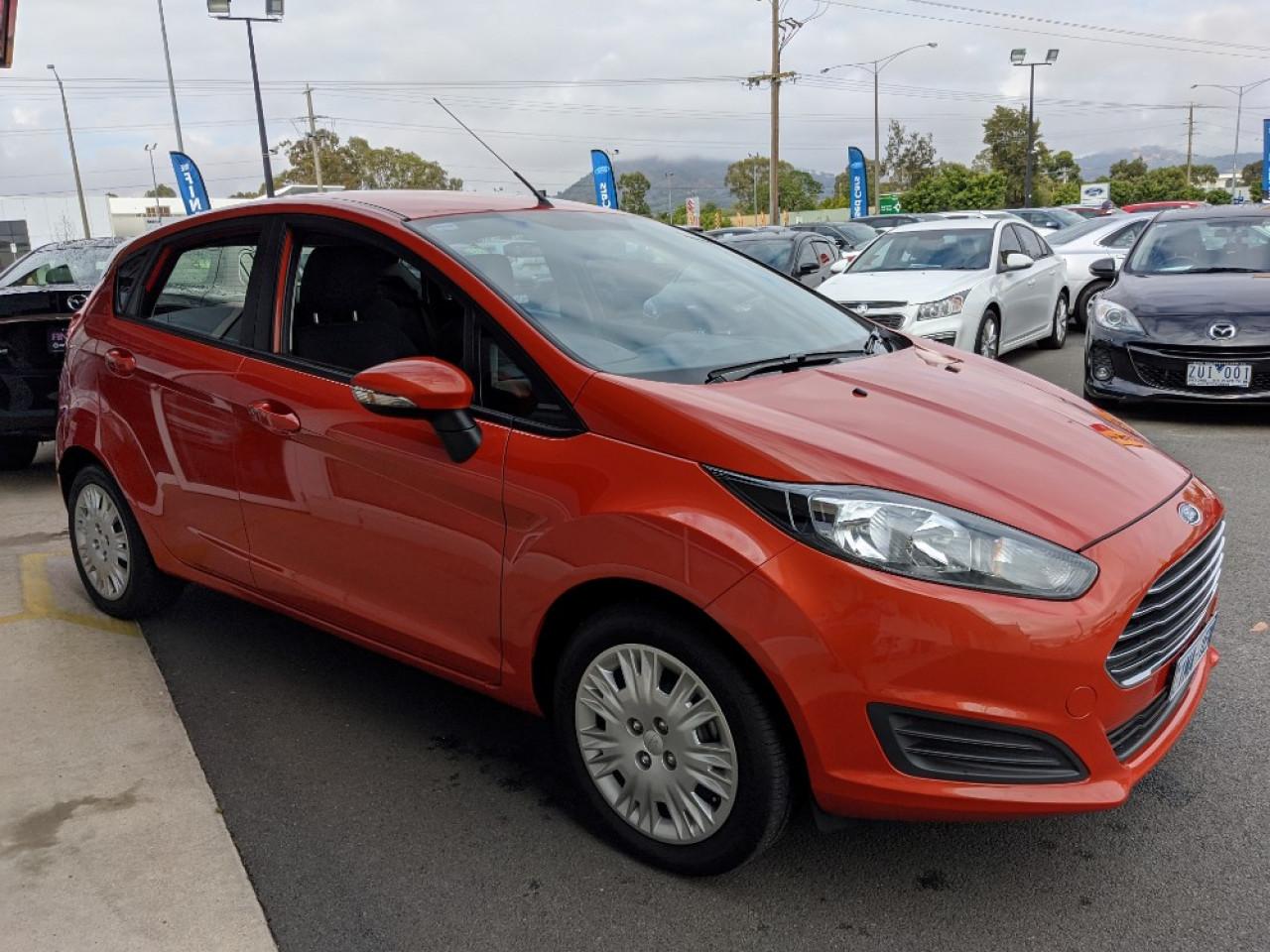 2015 Ford Fiesta WZ MY15 AMBIENTE Hatch