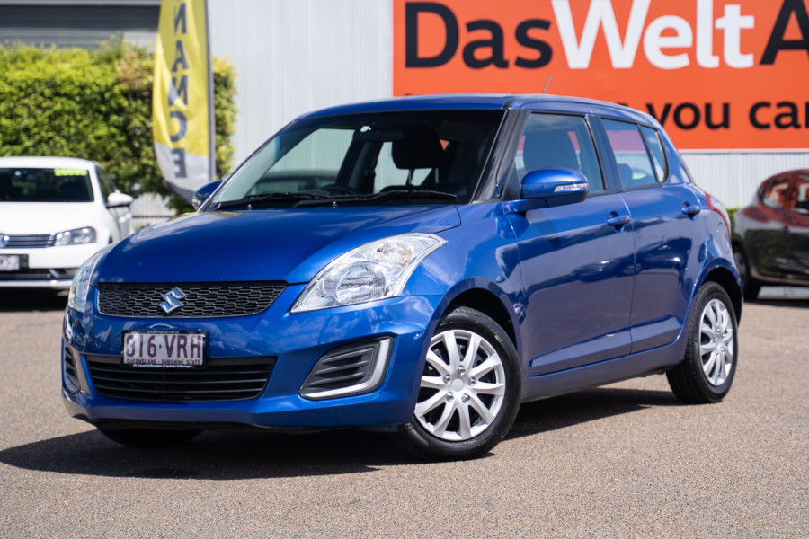 2015 Suzuki Swift FZ GL Hatchback