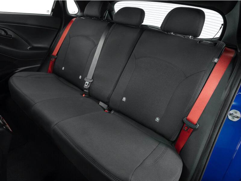 Neoprene rear seat covers