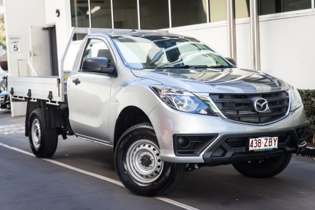 2019 Mazda BT-50 UR 4x2 2.2L Single Cab Chassis XT Cab chassis Mobile Image 1