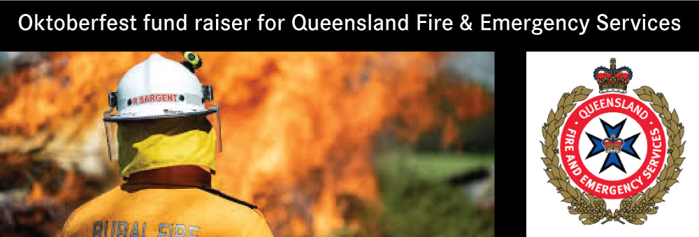 OKTOBERFEST RAISING FUNDS FOR QFES PEREGIAN FIRE HEROES