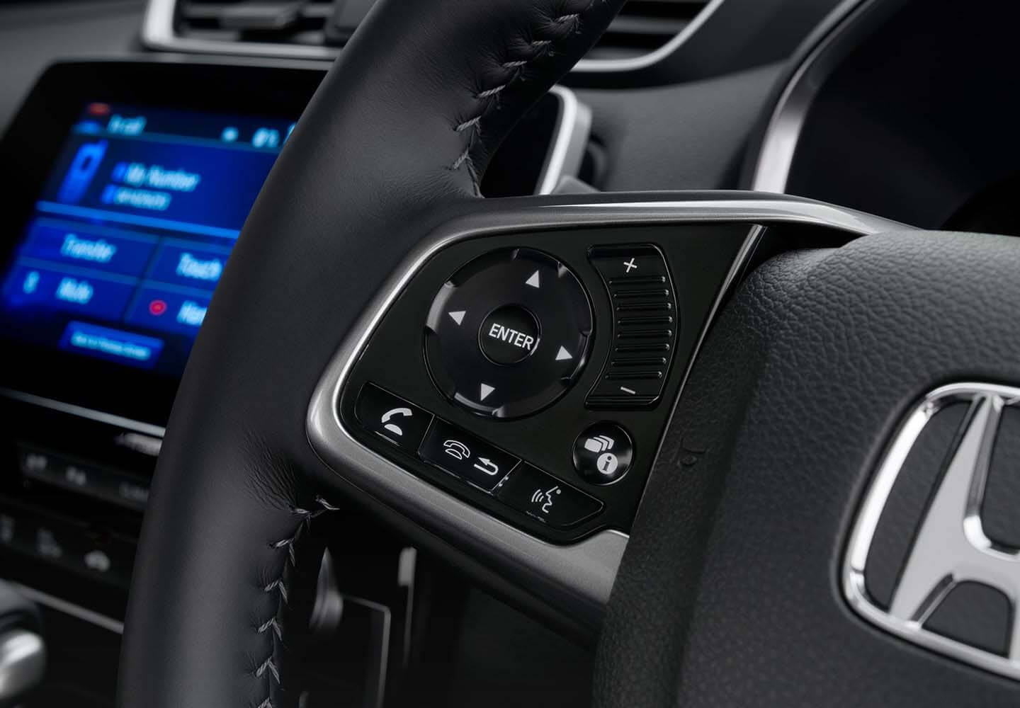 CR-V Steering Wheel Mounted Controls