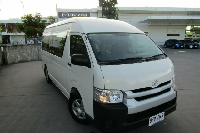 2018 Toyota HiAce KDH223R Commuter High Roof Super LWB Bus