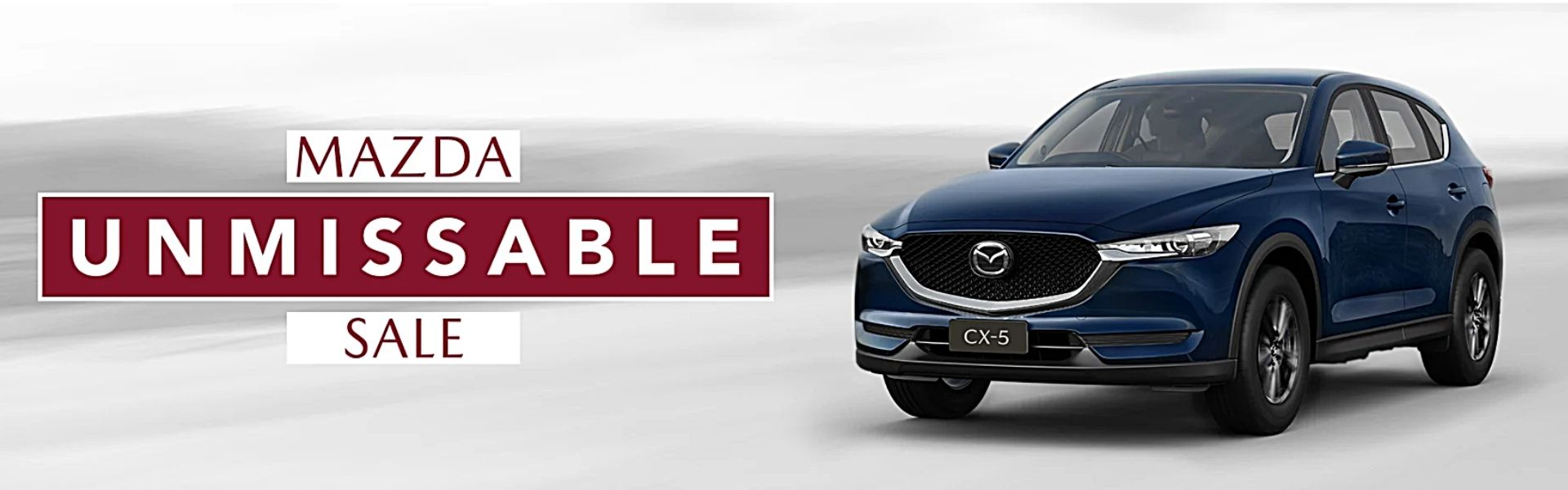 Mazda Unmissable Sale 2021