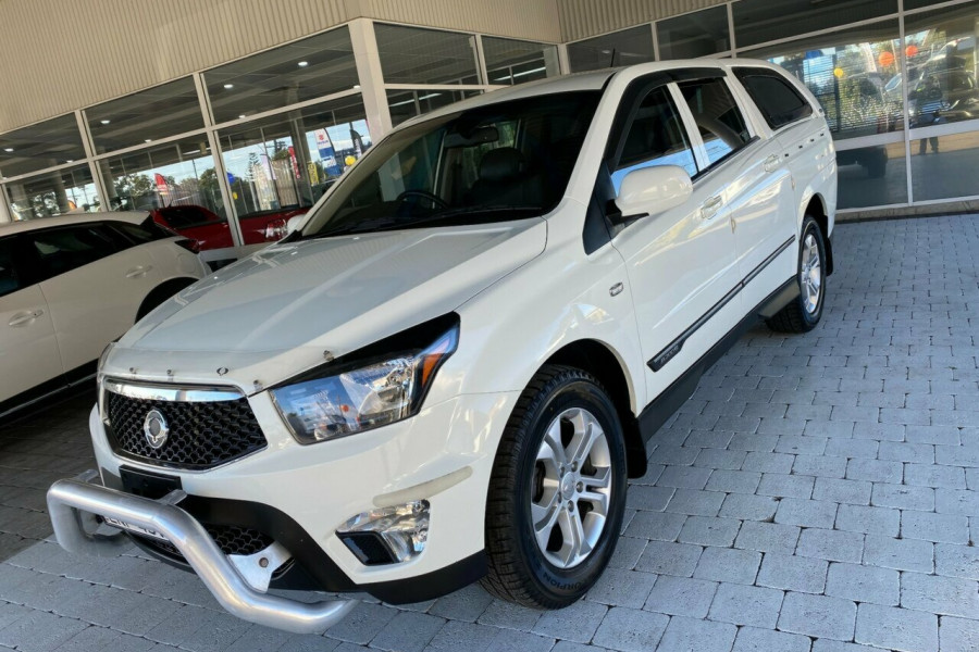 2012 SsangYong Actyon Sports Q150  SPR SPR Ute Image 1