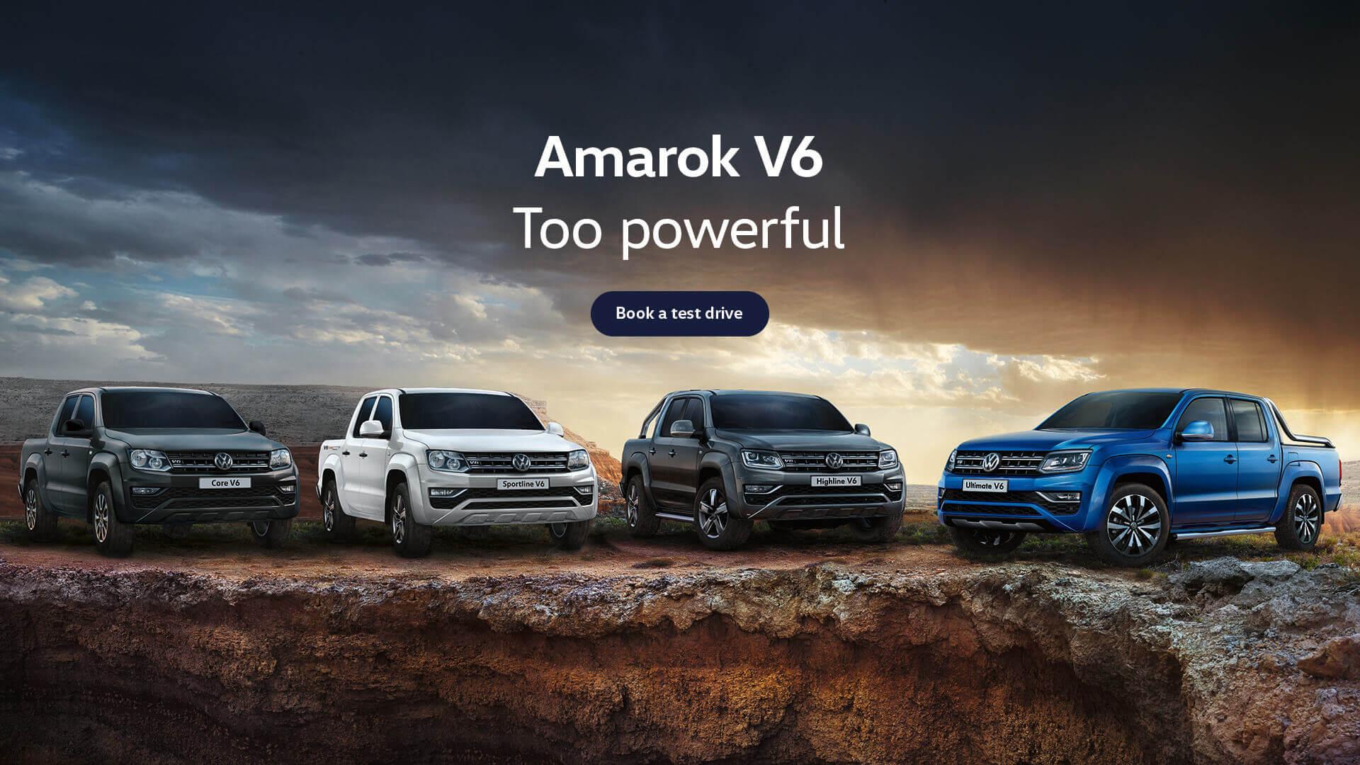 Amarok V6. Too powerful. Test drive today at Norris Motor Group Volkswagen, Brisbane