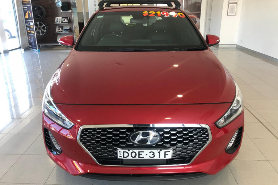 2017 Hyundai i30 GD4 Series II SR Hatchback