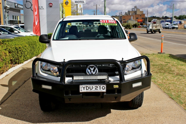2015 MY16 Volkswagen Amarok 2H  TDI400 TDI400 - Core Utility - dual cab Image 3