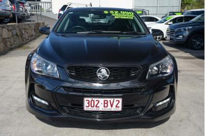 2016 Holden Commodore VF Series II MY16 SV6 Black Sedan Image 3
