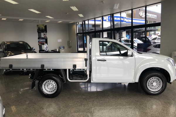 2018 Isuzu UTE D-MAX -- 4x4 SX Single Cab Chassis Single cab