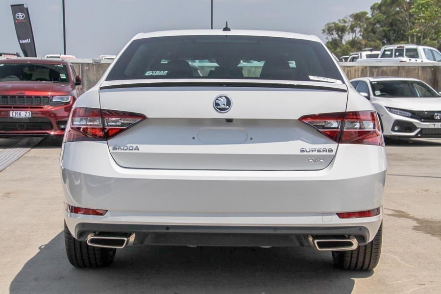 2019 Skoda Superb NP 206TSI 4x4 Sedan Sedan