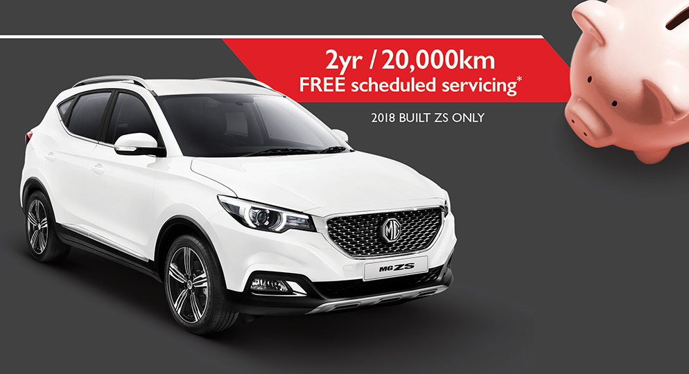 MG ZS Excite Plus 1.0T special