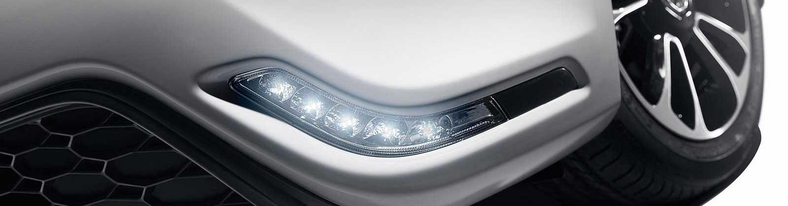 MG MG3 LED daytime running lights
