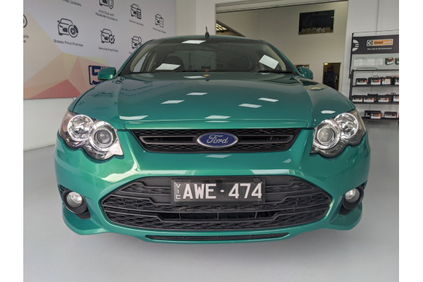 2012 Ford Xr6 FG MKII ECOLPI Utility Image 3