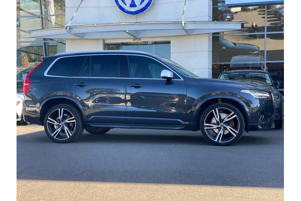 2018 Volvo XC90 L Series MY18 T6 Geartronic AWD R-Design Suv Image 4