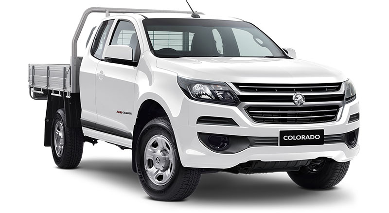 2019 Holden Colorado RG 4x4 Space Cab Chassis LS Cab chassis