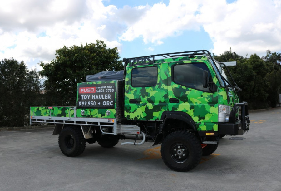 2019 Fuso Canter 4X4 CREW CAB for sale - Daimler Trucks