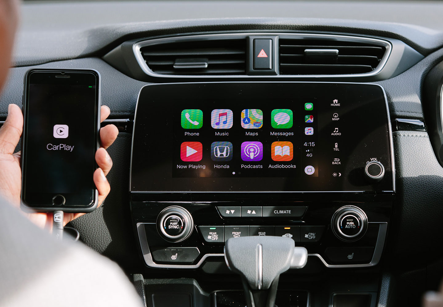 CR-V APPLE CARPLAY & ANDROID AUTO
