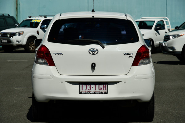 2008 Toyota Yaris NCP90R YR Hatchback Image 4