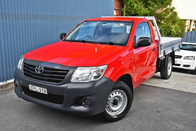 2013 Toyota HiLux TGN16R MY12 Workmate Cab chassis