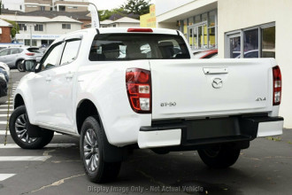 2021 Mazda BT-50 TF XT 4x4 Single Cab Chassis Cab chassis Image 3