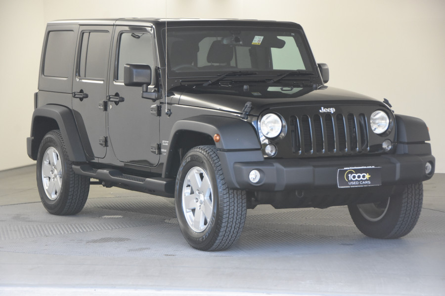 2018 Jeep Wrangler JK MY18 Unlimited Softtop