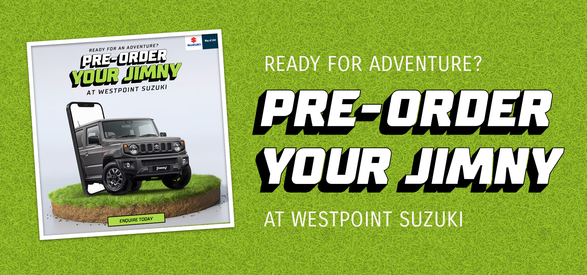 Pre-Order Your Jimny