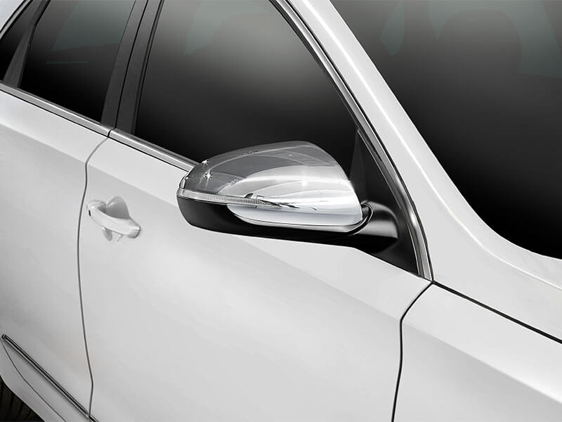 Mirror Covers - Chrome (set of 2).