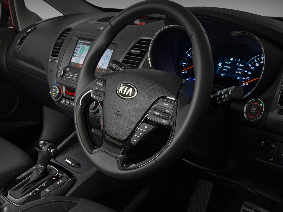 Cerato Hatch Refined Interior