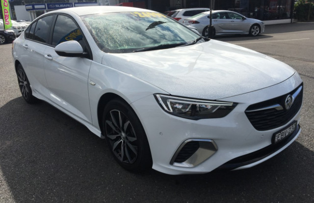 2017 Holden Commodore ZB Turbo RS Liftback
