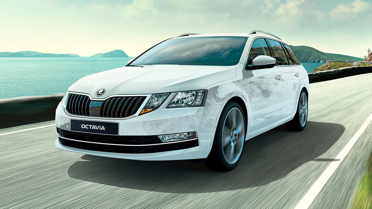 OCTAVIA WAGON<br>LIMITED TIME ONLY<br>FROM $29,990 DRIVEAWAY<sup>2</sup>