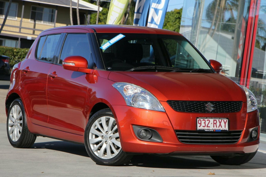 2011 Suzuki Swift FZ GLX Hatchback