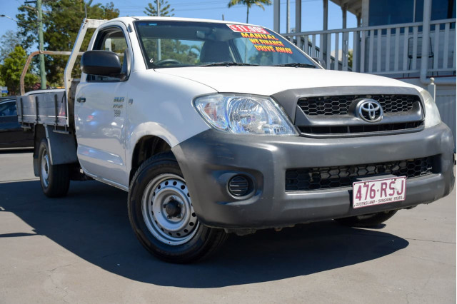 2011 Toyota HiLux TGN16R MY10 Workmate Cab chassis