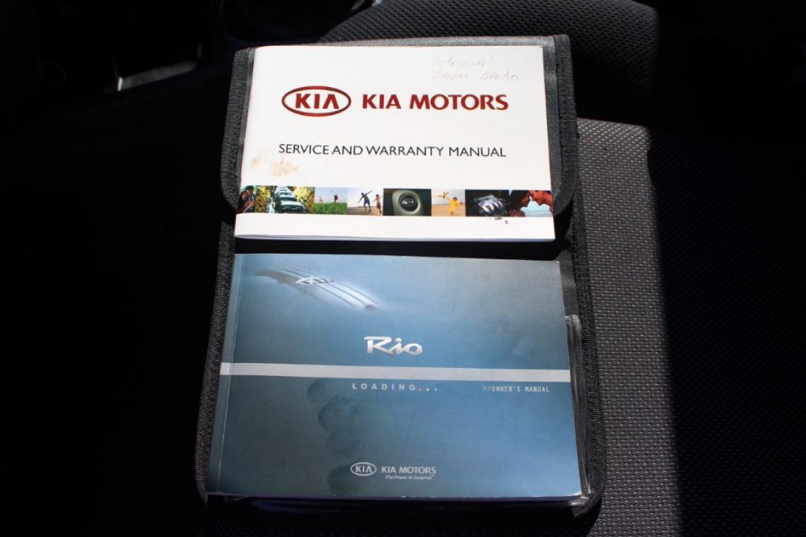 2008 MY07 Kia Rio JB MY07 LX Hatchback