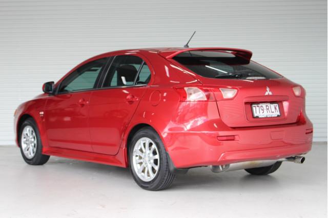 2010 MY11 Mitsubishi Lancer CJ MY11 VR Hatchback Image 5