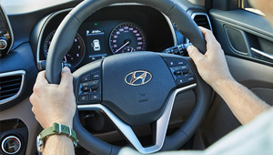 Tucson Heated Steering wheel.