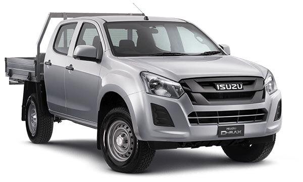 2020 MY19 Isuzu UTE D-MAX SX Crew Cab Chassis 4x4 Crew cab