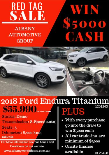 2018 Ford Endura Titanium