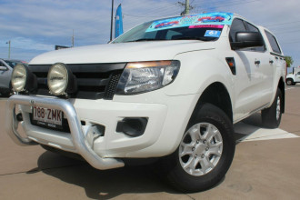 2015 Ford Ranger PX XL Hi-Rider Cab chassis Image 2