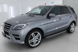 2013 Mercedes-Benz M-class W166 ML350 BlueTEC Wagon Image 3