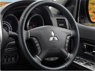 Leather Steering Wheel puts you in full control Image
