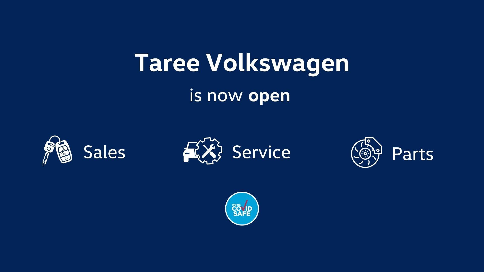 Taree Volkswagen now open
