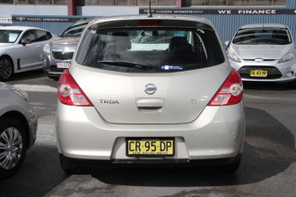 2010 Nissan Tiida C11 S3 Ti Hatchback